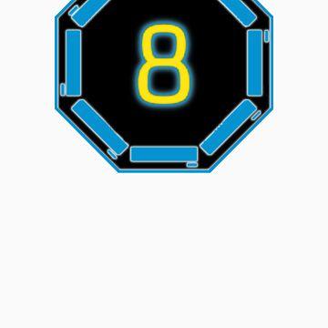 Level 8 Sticker by houseAU