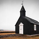 Black Church, Iceland by Luka Skracic