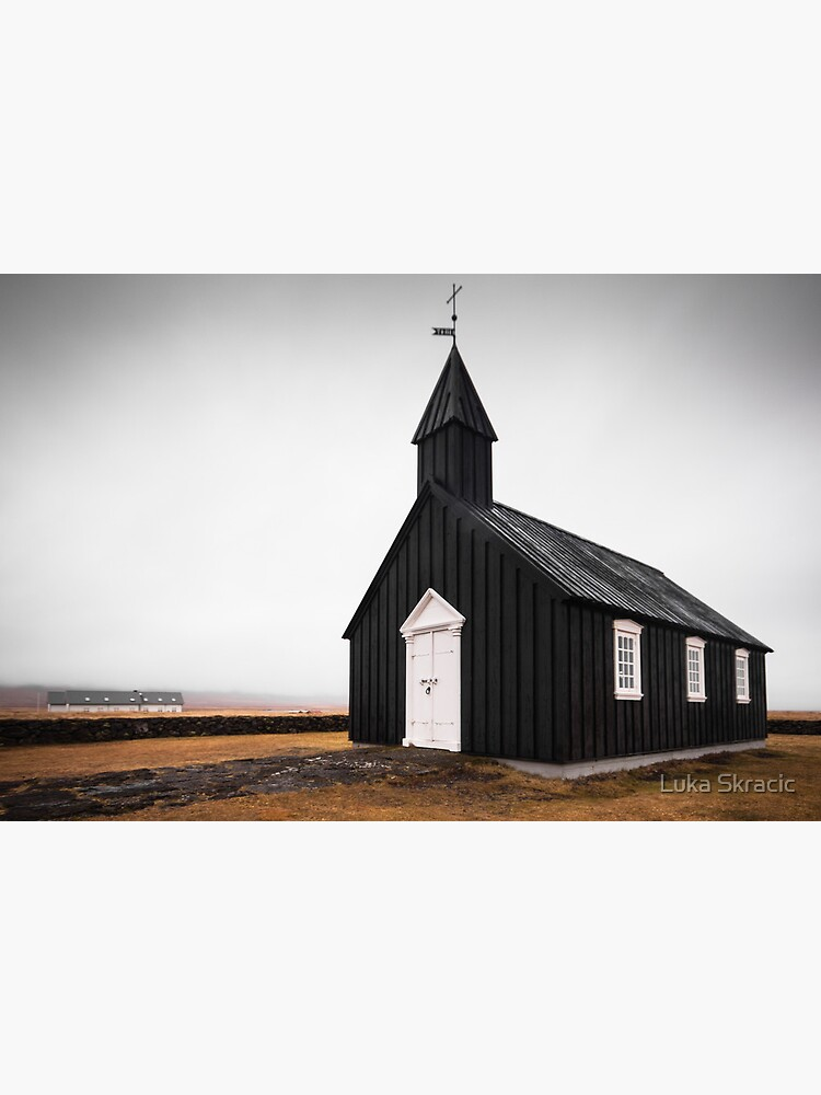 Black Church, Iceland by LukaSkracic