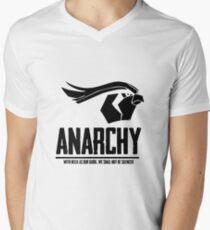 Anarchy (Black Text) Men's V-Neck T-Shirt