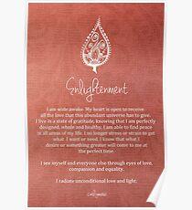 Affirmation - Enlightenment Poster