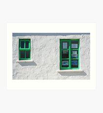 Gweedore Window Art Print