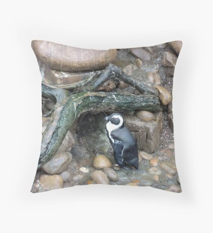 The Penguins Home Throw Pillow