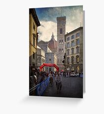 Firenze 2013 ~ Word Cycling Championship Greeting Card