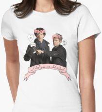 I believe in Johnlock Women's Fitted T-Shirt