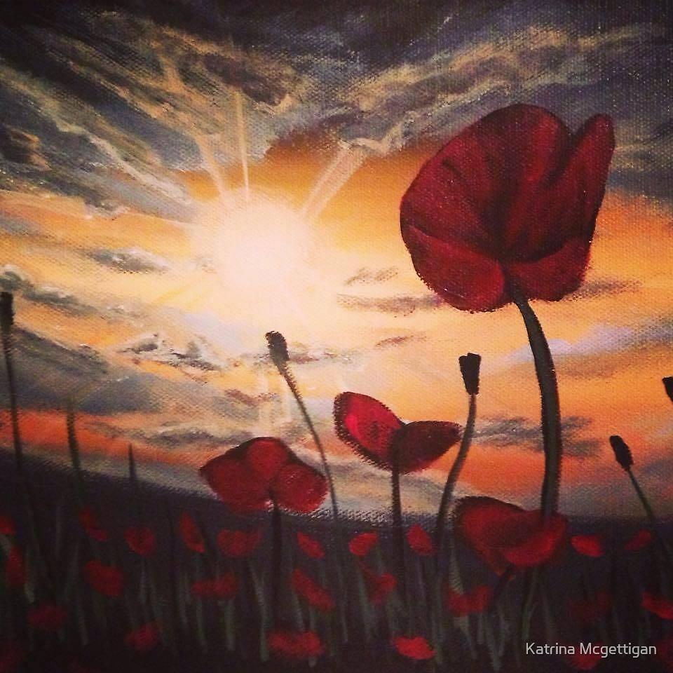 'Poppies at Dawn' by Katrina Mcgettigan