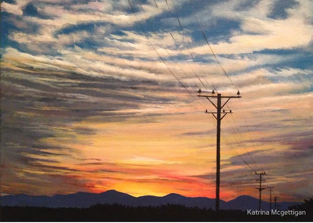 Methven Sunset by Katrina Mcgettigan