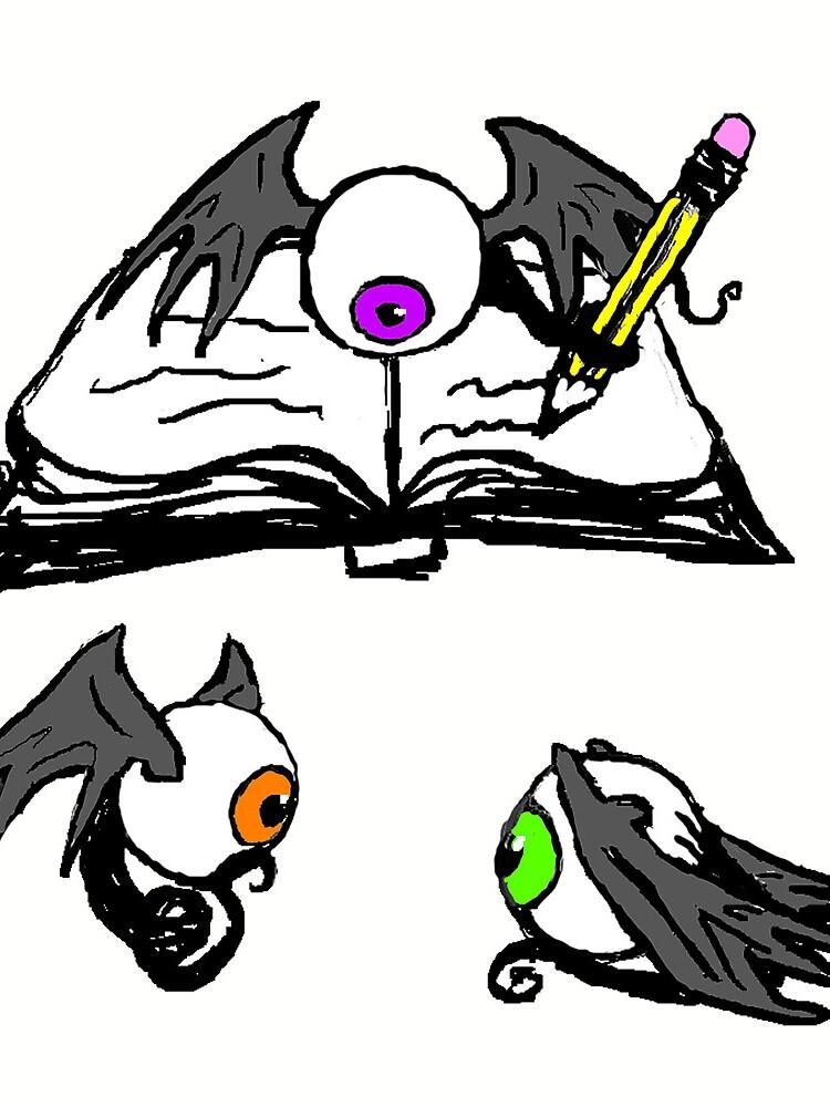 Fleye By Book by RowynGolde