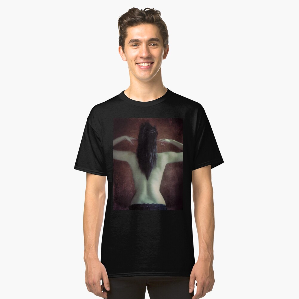 We are not meant to contain the sadness of this world. Classic T-Shirt Front