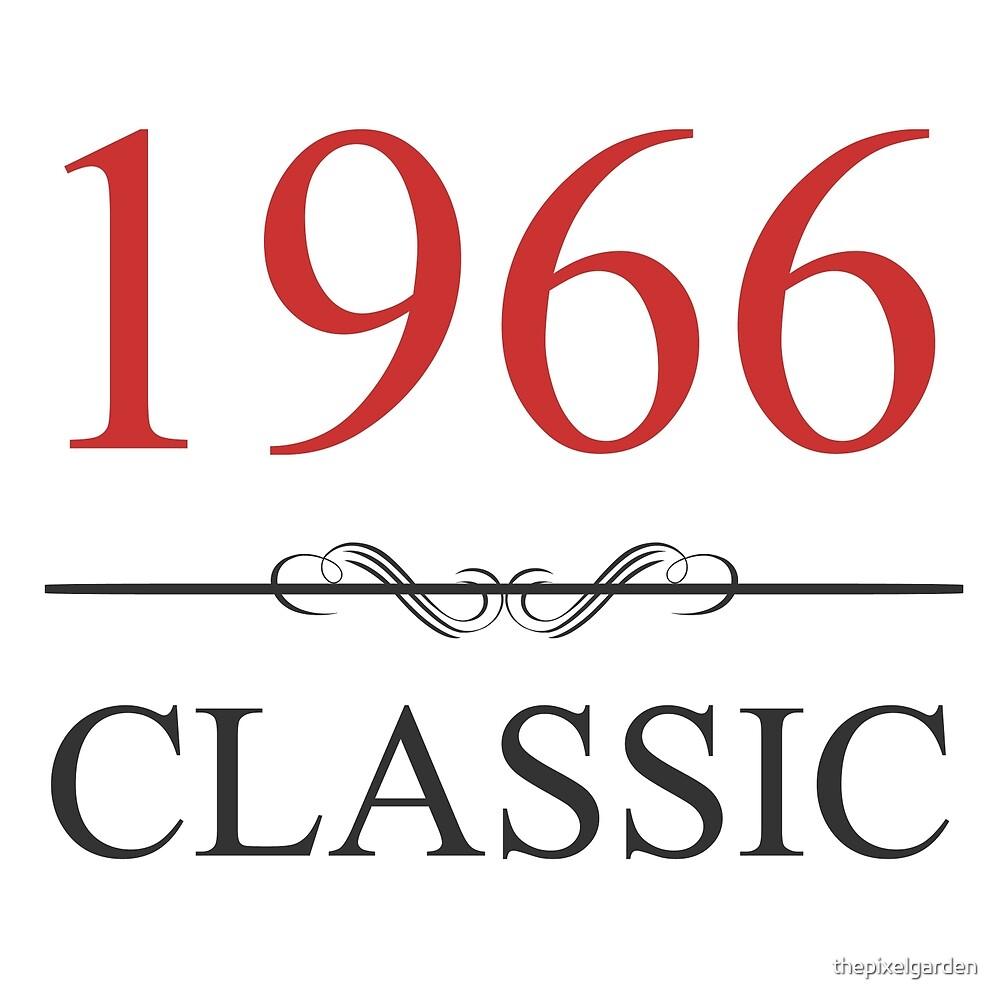 1966 Classic by thepixelgarden