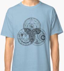 Superwholock Venn Diagram (Transparent) Classic T-Shirt