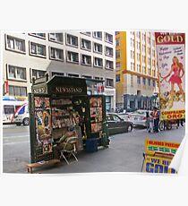 Magazine Stand Downtown LA Poster