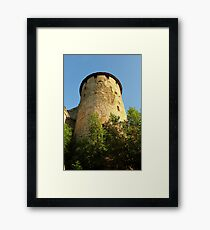 Tower Ivangorod fortress Framed Print