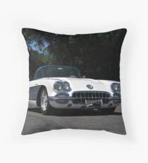 1959 Corvette Roadster   Throw Pillow