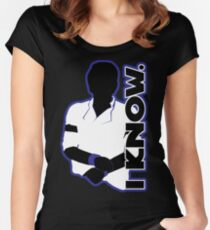 Catharsis Six: I Know Women's Fitted Scoop T-Shirt