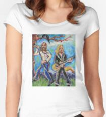 My Morning Song (The Black Crowes) Women's Fitted Scoop T-Shirt