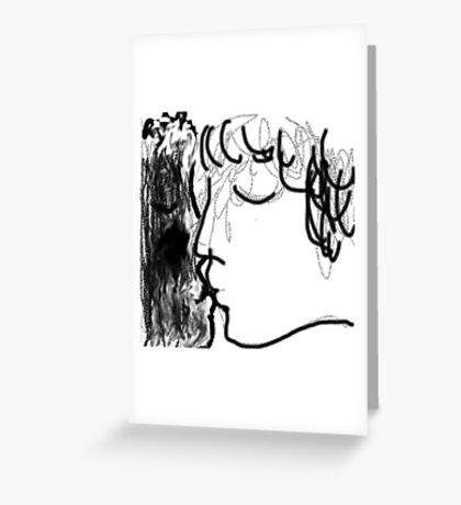 The Kiss -(220214)- Digital artwork/MS Paint Greeting Card
