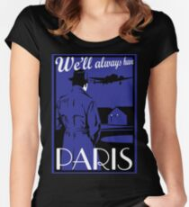 Catharsis Three: We'll Always Have Paris Women's Fitted Scoop T-Shirt