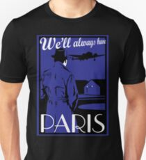 Catharsis Three: We'll Always Have Paris Unisex T-Shirt