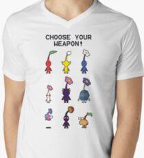 Pikmin: Fauna Men's V-Neck T-Shirt