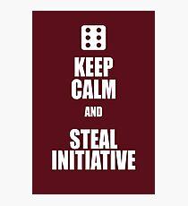 Lámina fotográfica Steal Initiative