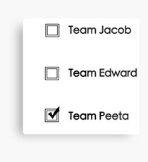 Team Peeta!  Metal Print
