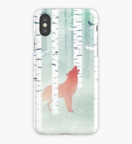 Winter Fox iPhone Case