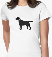 Black Lab Preppy Silhouette T-Shirt