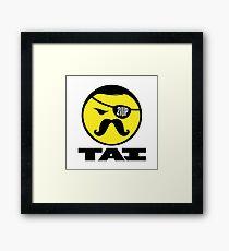 TAI Logo Poster Framed Print