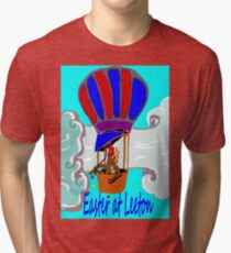 Rockabilby Easter Hot Air Balloonist Tri-blend T-Shirt