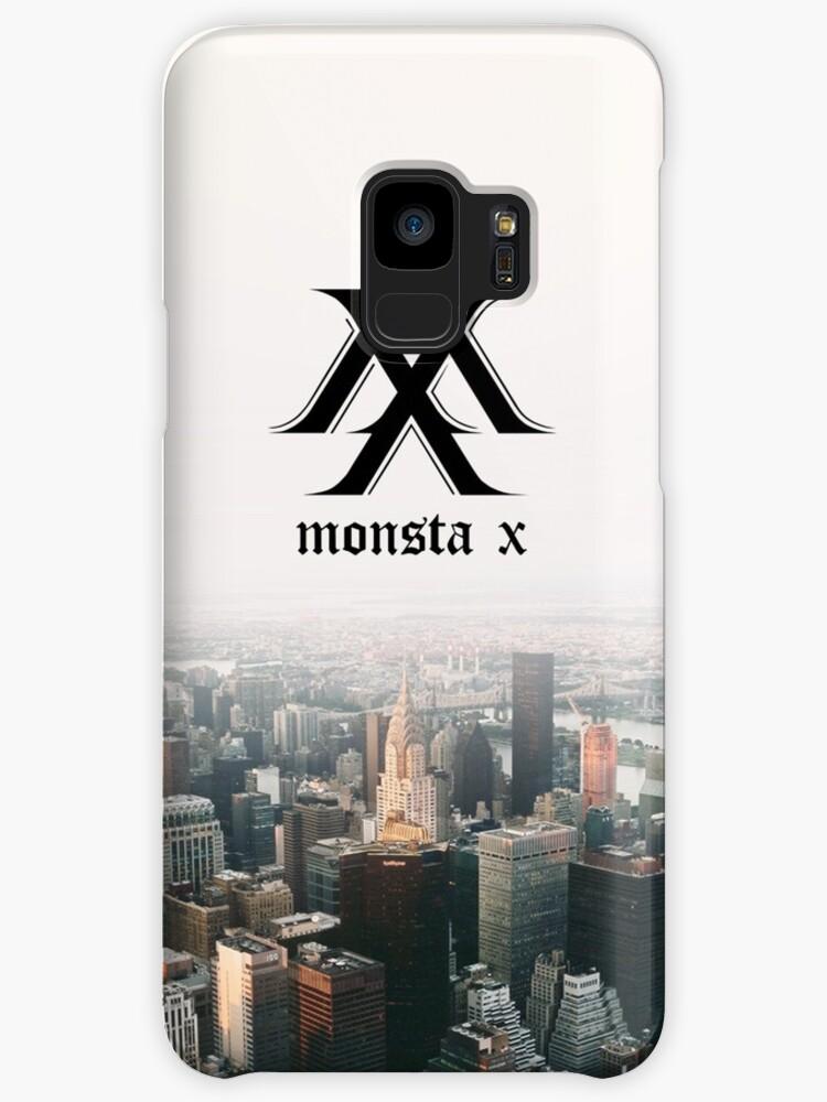 MONSTA X - Logo: Samsung Galaxy Case by idolheavenshop
