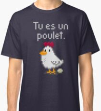 You are a chicken - light text Classic T-Shirt