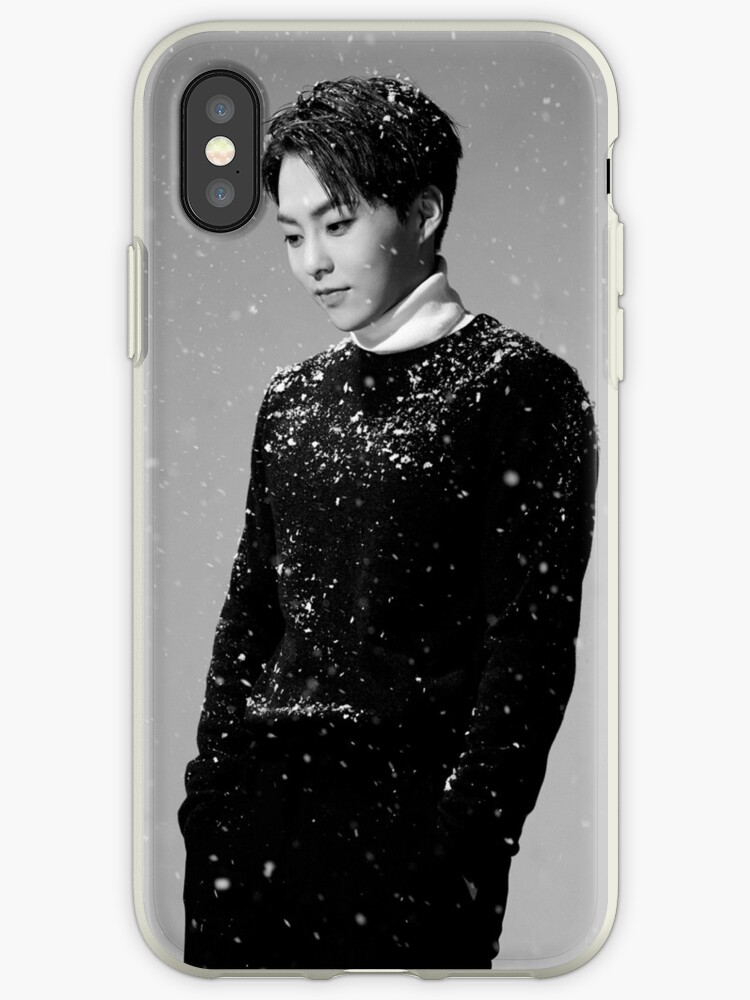 EXO - Sing For You: Xiumin iPhone Case by idolheavenshop