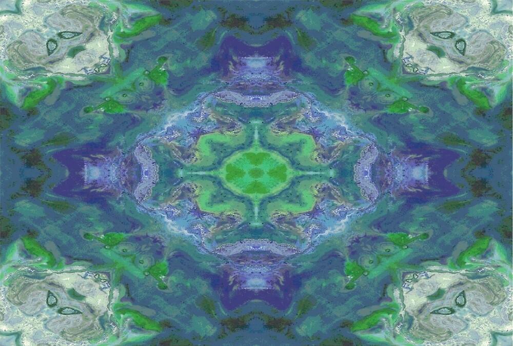 Green Pattern 2 by GracePhillips