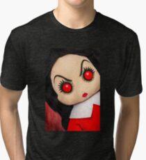 Evil Rag Doll Tri-blend T-Shirt