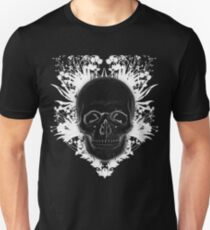 Awesome Negative Skull Unisex T-Shirt