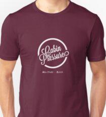 Cabin Pressure Abu Dhabi - Zurich Unisex T-Shirt