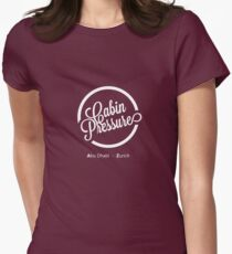 Cabin Pressure Abu Dhabi - Zurich Womens Fitted T-Shirt