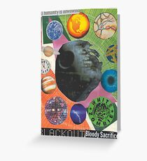 Spherical Musings Greeting Card
