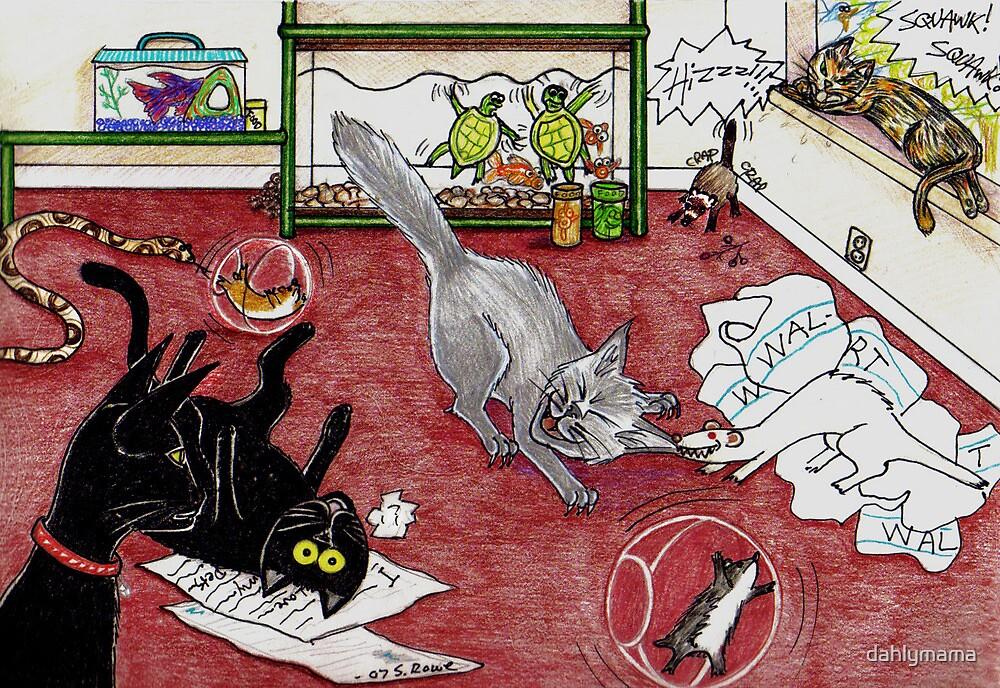 Too Many Pets by Shawna Rowe