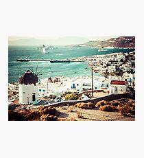 Mykonos Photographic Print
