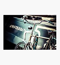 Amsterdam bicycle Photographic Print