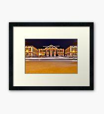Nassau Nights: Rawson Square Framed Print