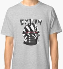 Dazzle Camo Cylon - Battlestar Galactica Classic T-Shirt