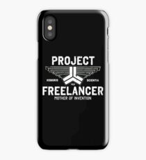 Red vs Blue Project Freelancer iPhone Case/Skin