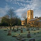Church in Winter light by StephenRB