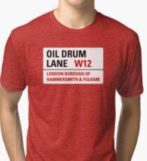 Oil Drum Lane - Steptoe & Son Tri-blend T-Shirt