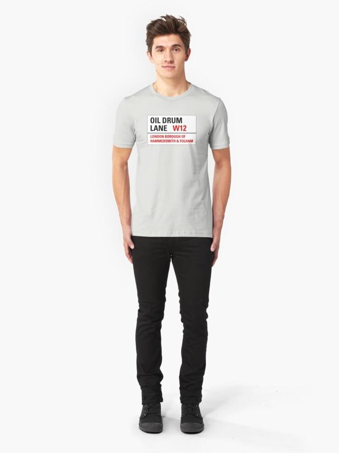 Alternate view of Oil Drum Lane - Steptoe & Son Slim Fit T-Shirt