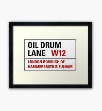 Oil Drum Lane - Steptoe & Son Framed Print