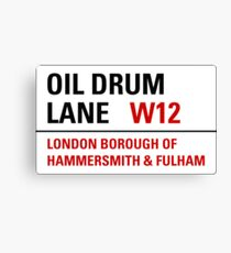 Oil Drum Lane - Steptoe & Son Canvas Print